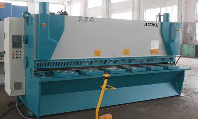 CNC Hydraulic Guillotine with Variable Rake DC/MS8 Series