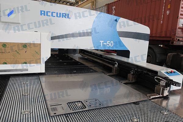 Heavy-duty Clamp for Accurl CNC Punch press