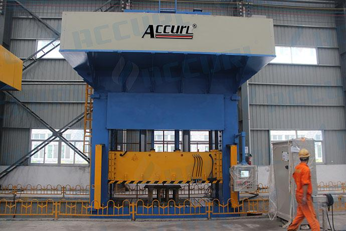 H Frame Hydraulic Compression Moulding Press