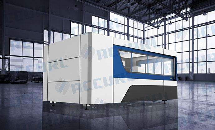 500W Fiber Laser CNC Stainless Steel Cutting Machine