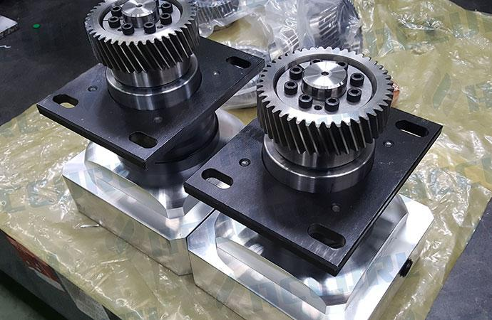 Shimpo reduction gears from Japan