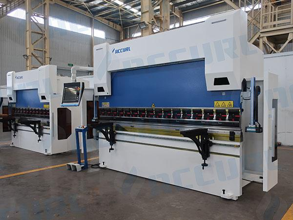 CNC 8 Axis Press Brake Machine with DELEM DA-66T 3D2D graphical CNC